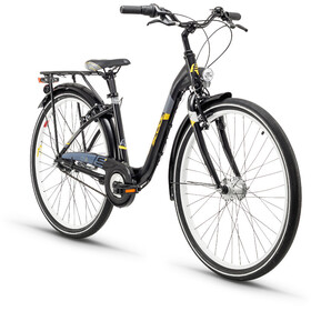 s'cool chiX 26 7-S - Vélo junior Enfant - alloy gris/noir